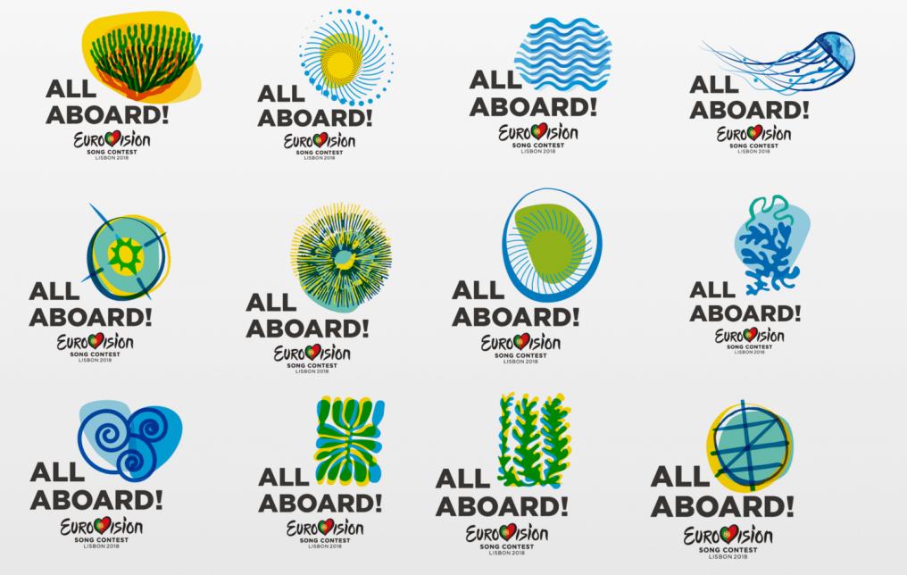 Логотипы Евровидения-2018
