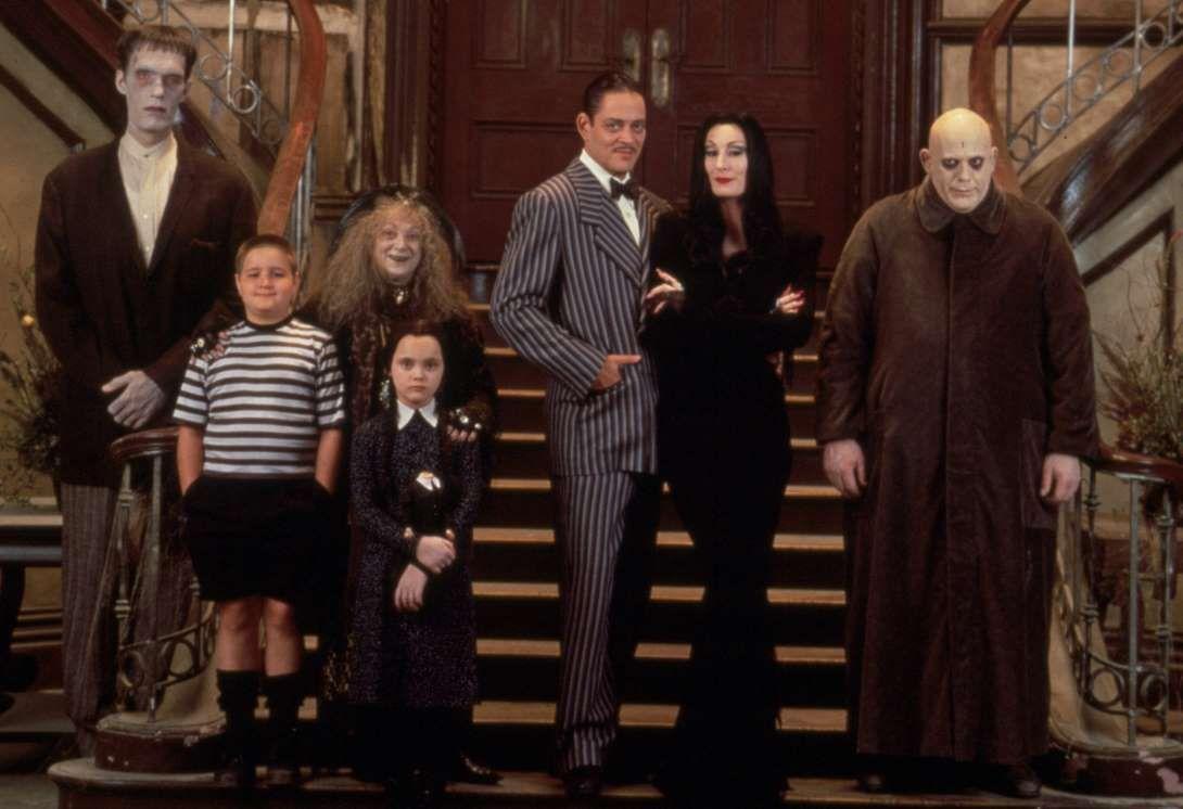 Кадр из фильма «Семейка Аддамс», выпущенного в 1991 году