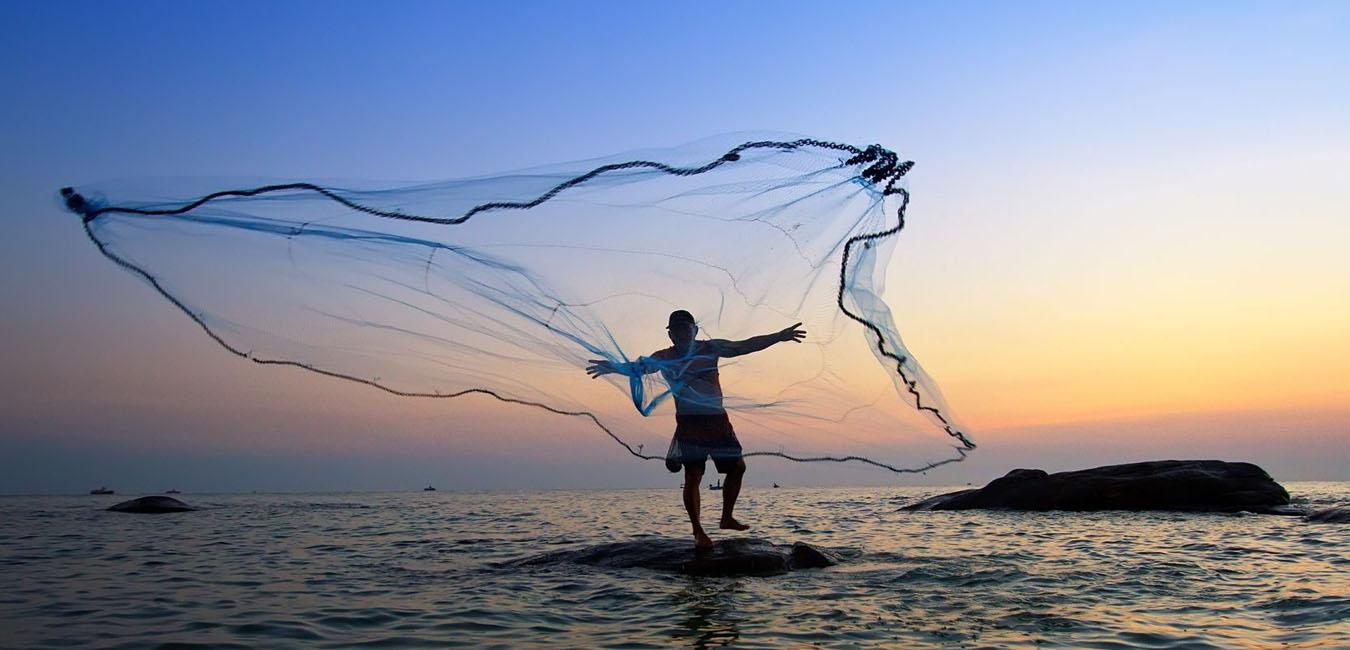Некоторые рыболовные сети трудно заметить, и они могут быть опасны как для животных, так и для дайверов