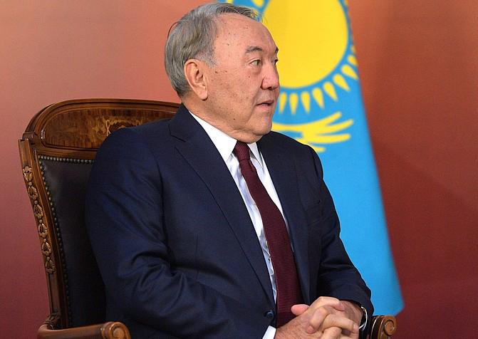 В январе этого года состоялся визит президента Казахстана Нурсултана Назарбаева в США