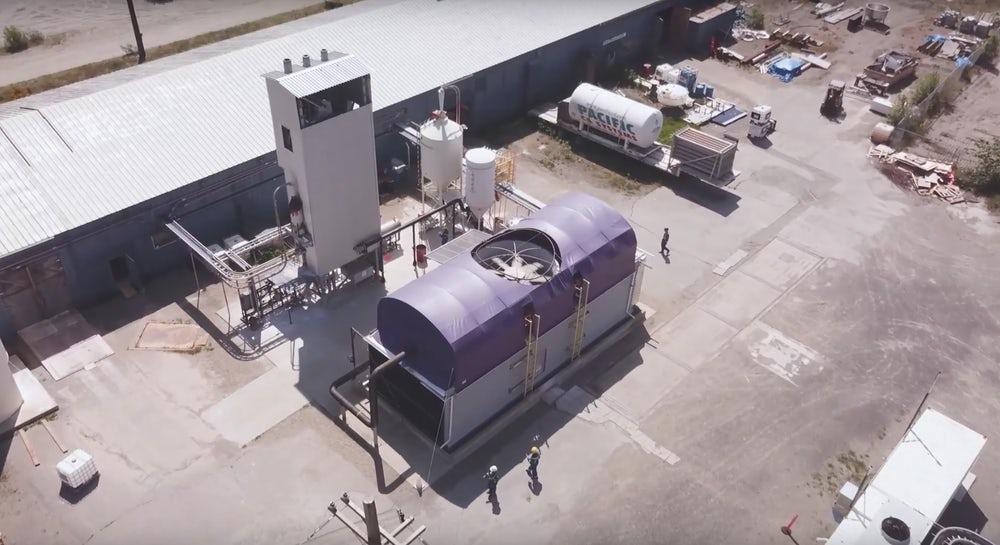 Экспериментальное оборудование для прямого захвата воздуха / Фото: Carbon Engineering