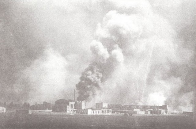 Авиаудары под Киевом на рассвете 22 июня