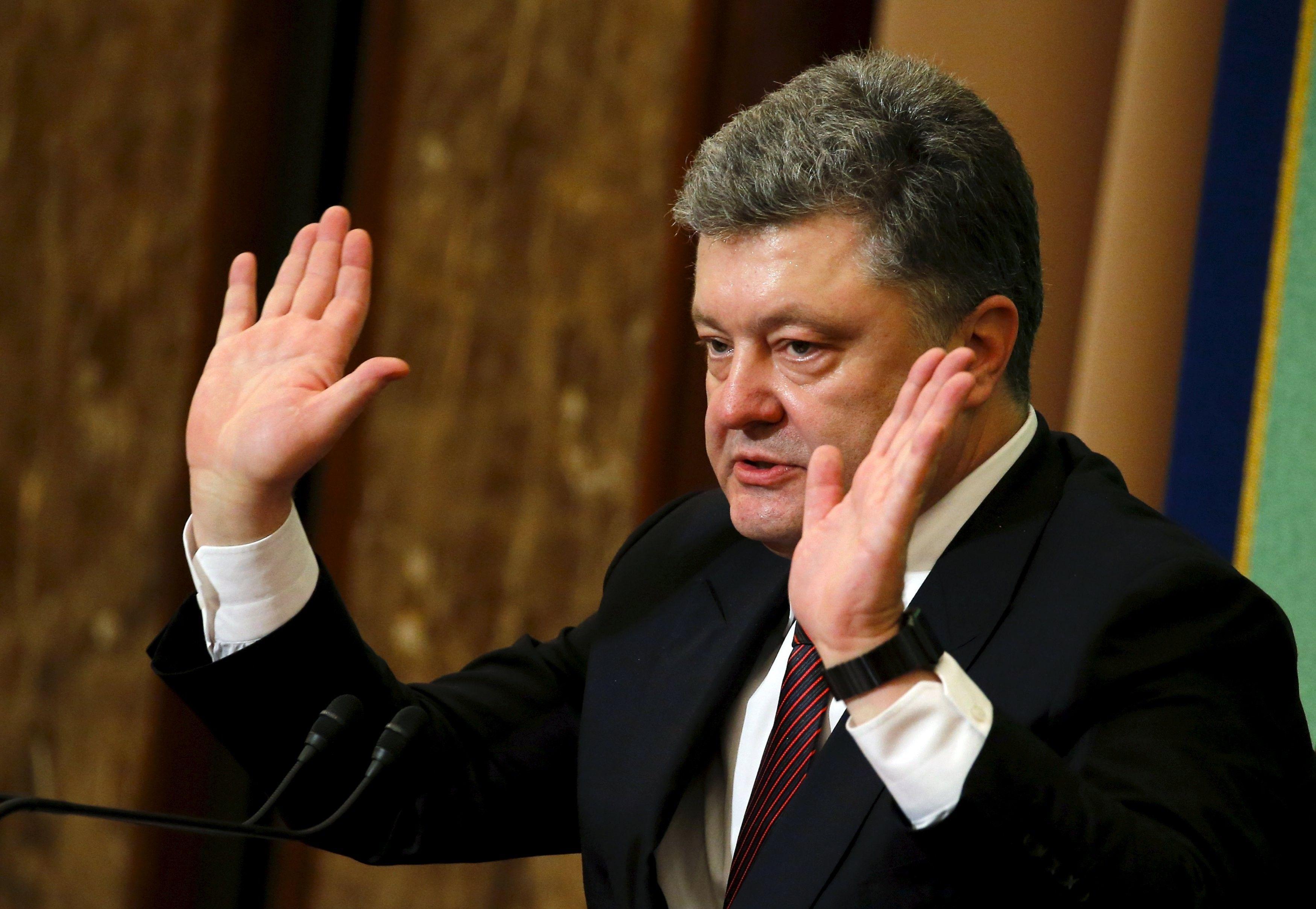 """Президент Порошенко уверял, что передает """"Рошен"""" в управление """"слепому"""" трасту Ротшильдов"""