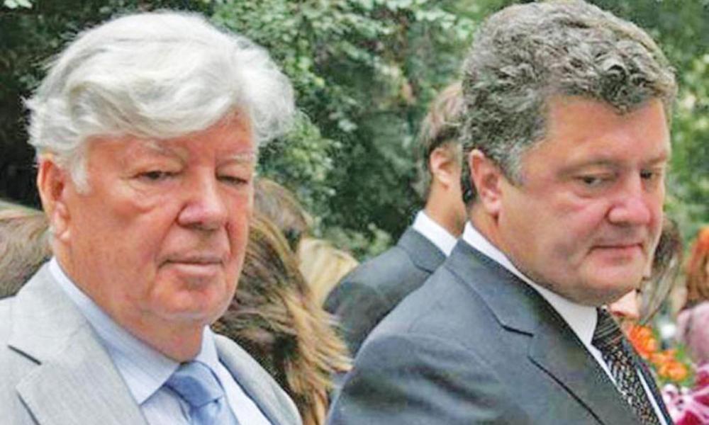 Юристы Порошенко просили Mossack Fonseca переписать его офшор на фонд, директором которого числился отец президента Алексей Порошенко