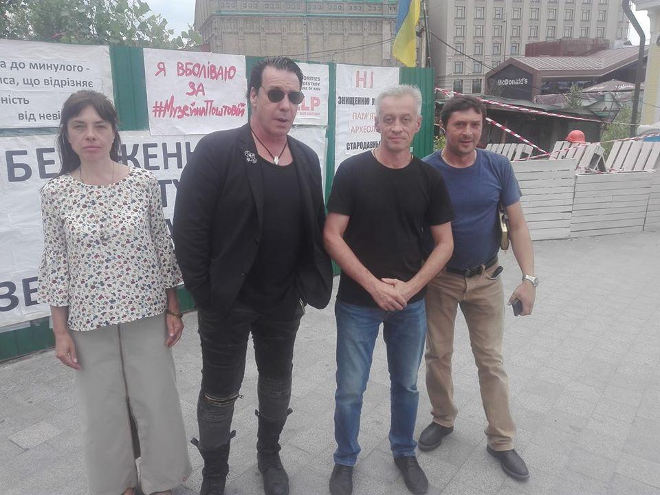 Фронтмен Rammstein Тиль Линдеманн приехал вукраинскую столицу