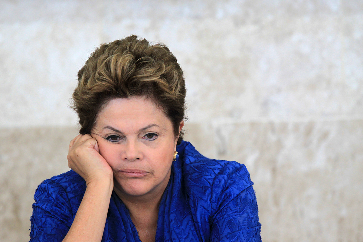 Экс-президенту Бразилии Дилме Русефф парламент объявил импичмент и отправил в отставку за коррупцию