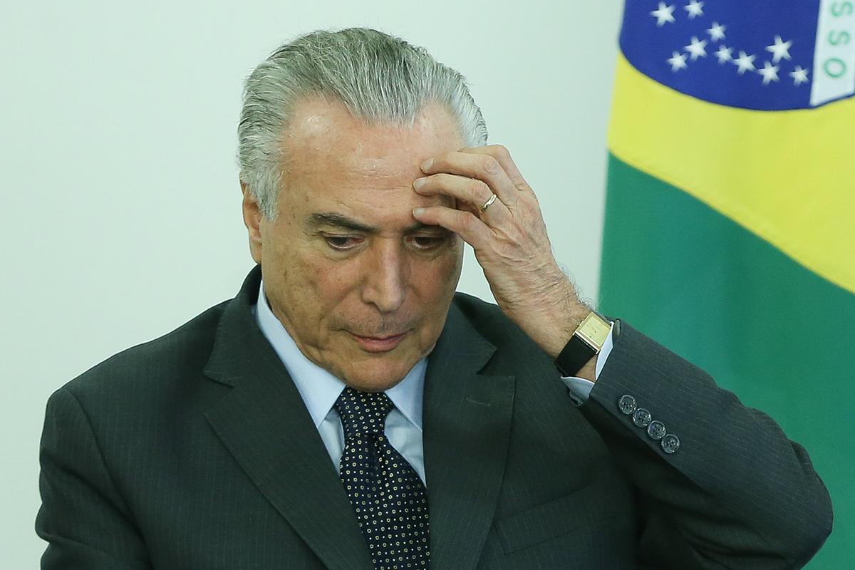 Нынешнему президенту Бразилии Мишелу Темеру выдвинуто уже второе обвинение в коррупции