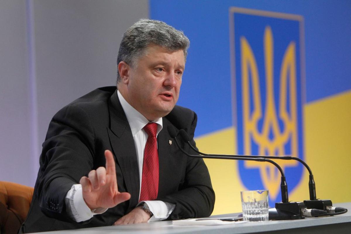 Президент Порошенко считает, что участие международных наблюдателей в создании антикоррупционных институтов нарушает суверенитет Украины