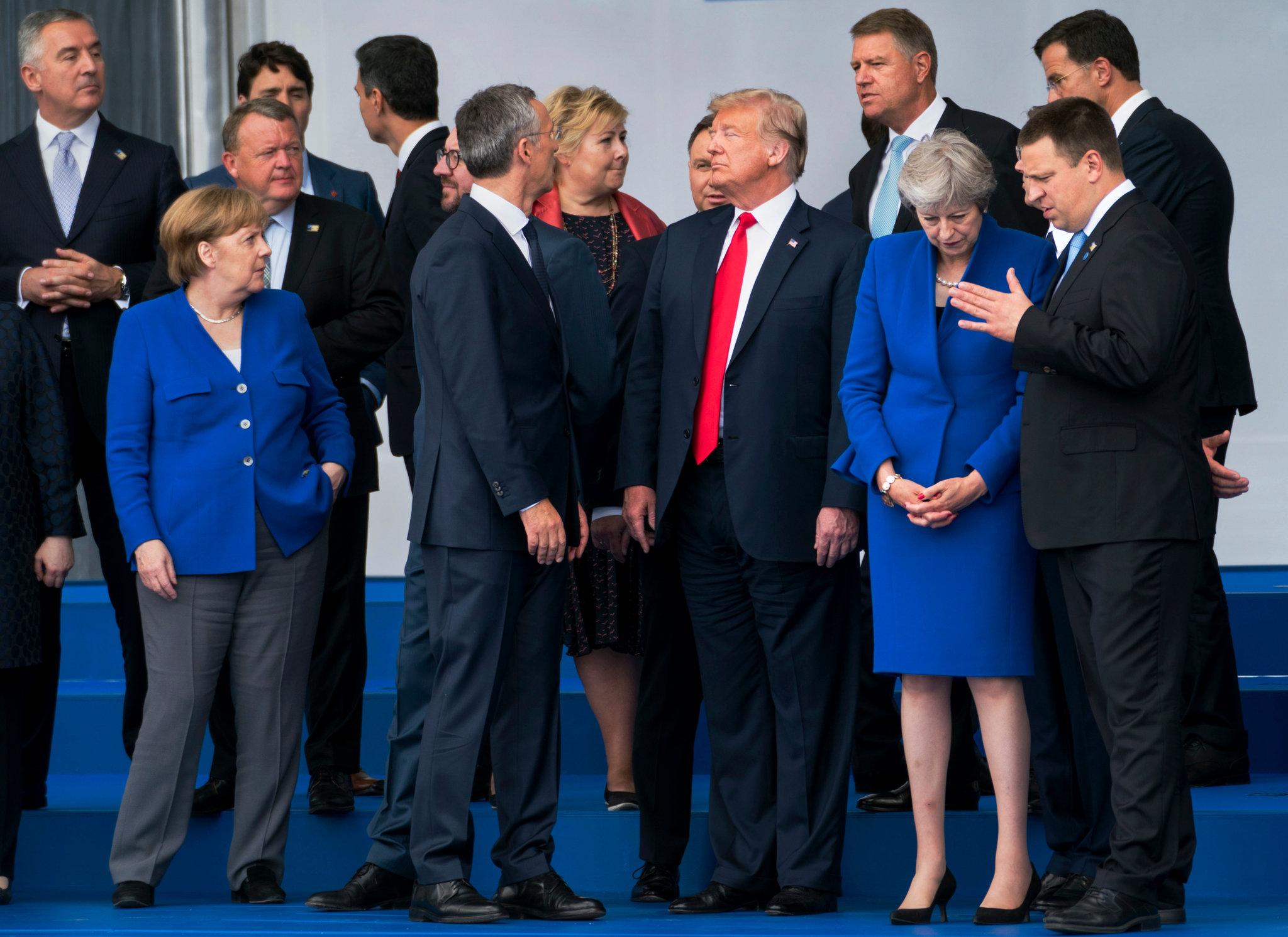 Американский президент заявил союзникам по НАТО: либо защищайтесь от России, либо перестаньте покупать у нее газ, финансируя российскую армию