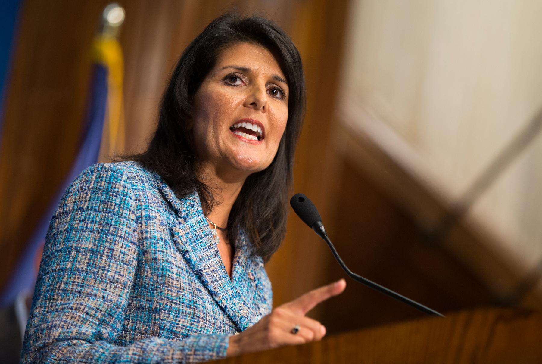 Представитель США в ООН Никки Хейли назвала Совет по правам человека предвзятым и лицемерным органом