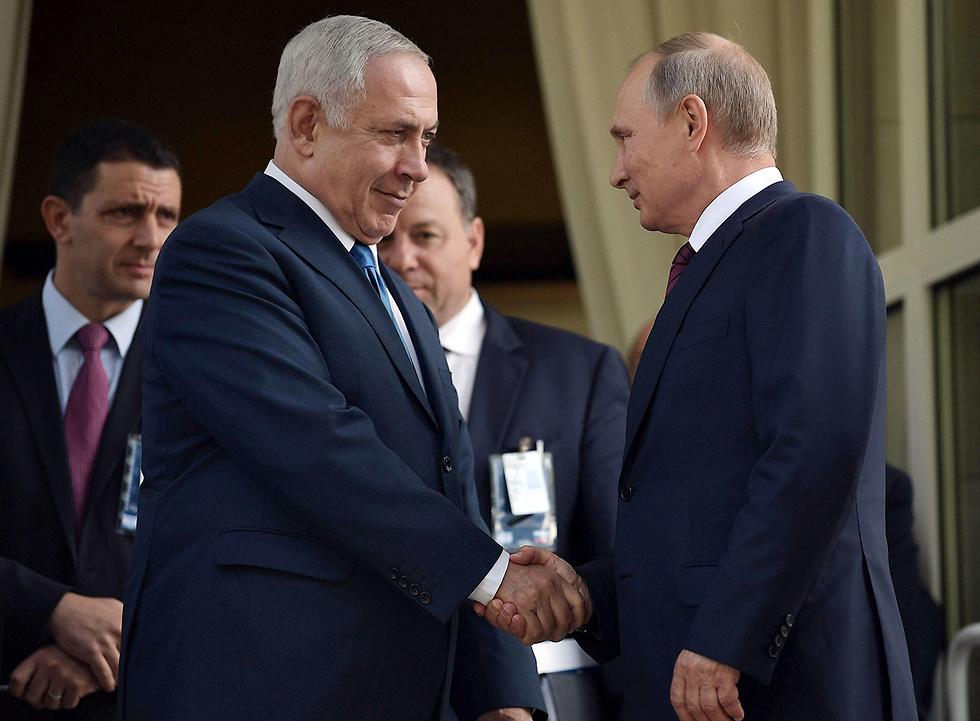 Перед встречей с Трампом Путин провел переговоры с премьер-министром Израиля Беньямином Нетаньяху
