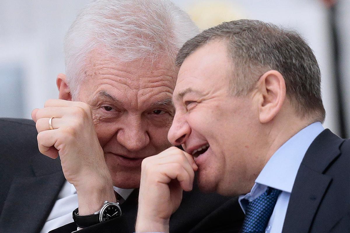 Друзья Путина Геннадий Тимченко и Аркадий Ротенберг - главные выгодополучатели от строительства газопроводов в обход Украины
