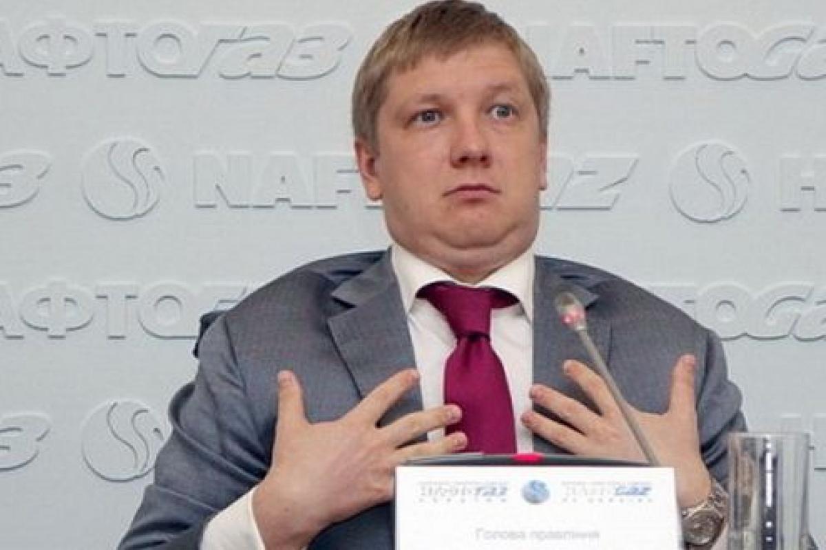"""Глава правления """"Нафтогаза"""" Андрей Коболев не согласен привязывать поиски мирового соглашения по поводу долга """"Газпрома"""" в $2,6 млрд к переговорам о транзите газа"""