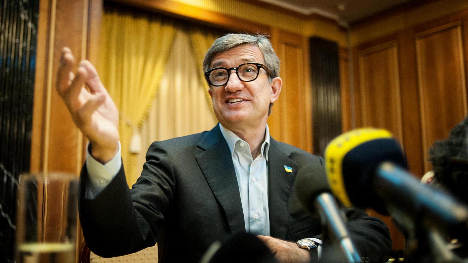 Сергей Тарута обещает примирить все группы влияния, если станет президентом