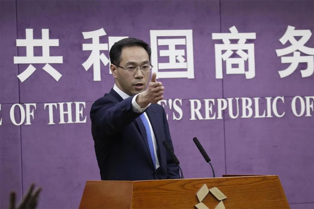 Глава Министерства коммерции Китая Гао Фенг