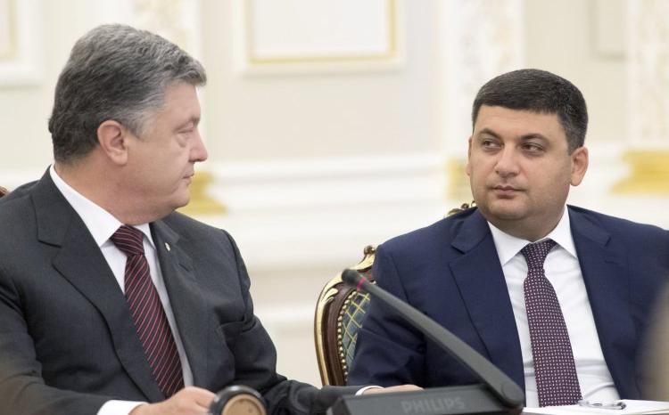"""Президент Порошенко намерен """"сбить"""" премьер-министра Гройсмана на старте его самостоятельного полета"""