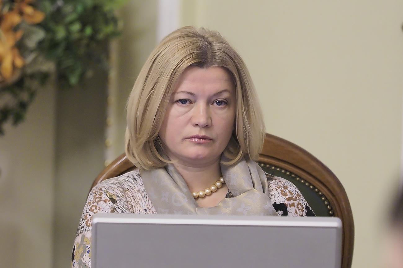 Первый вице-спикер Ирина Геращенко заранее призвала своих коллег проголосовать за продление особого статуса для ОРДЛО