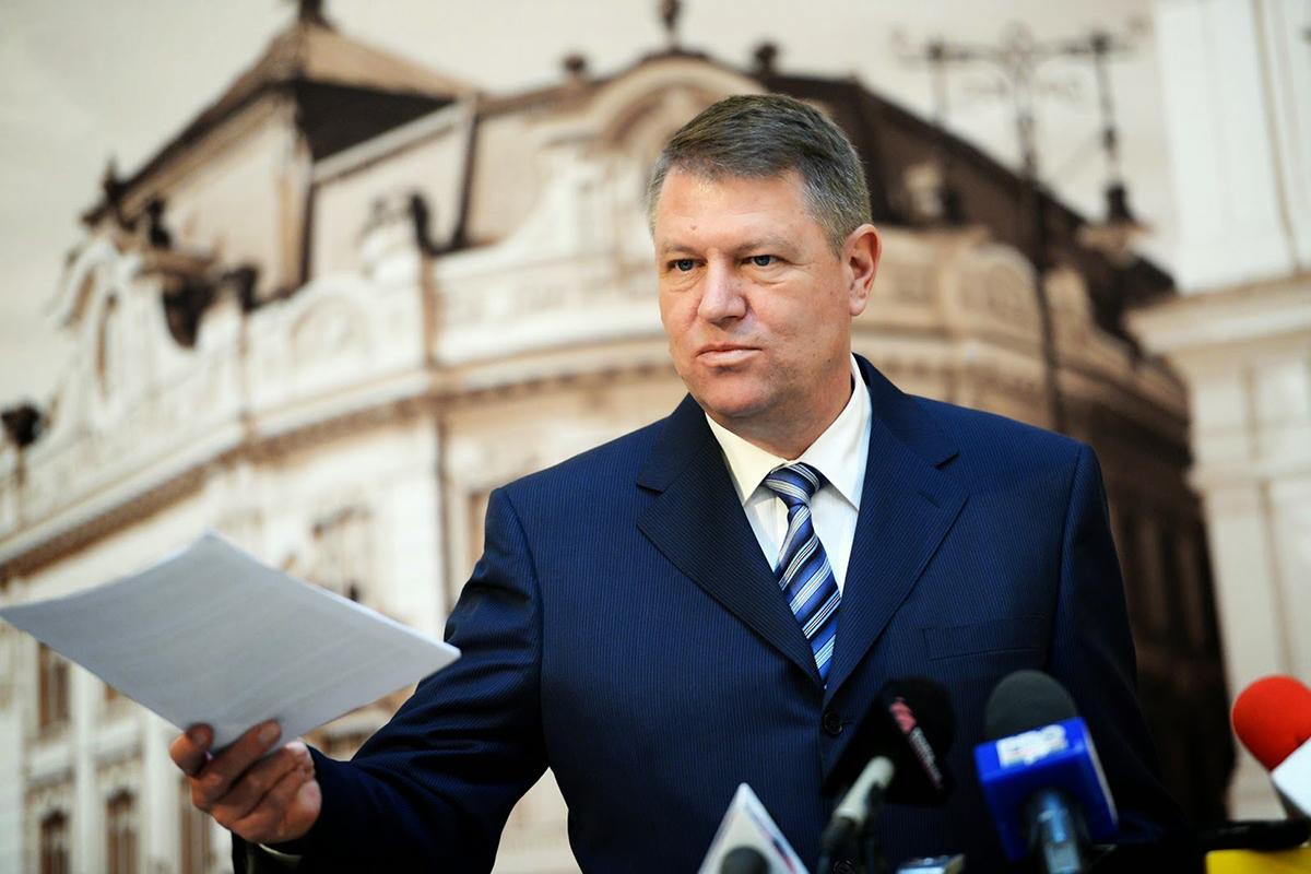Президент Румынии Клаус Йоханнис известен как борец с коррупцией
