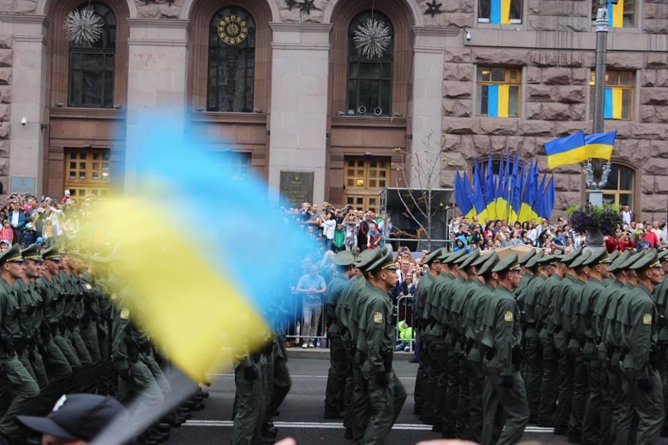 Парад в честь Дня независимости Украины, 24 августа 2016 года / Фото: Марина Нижник