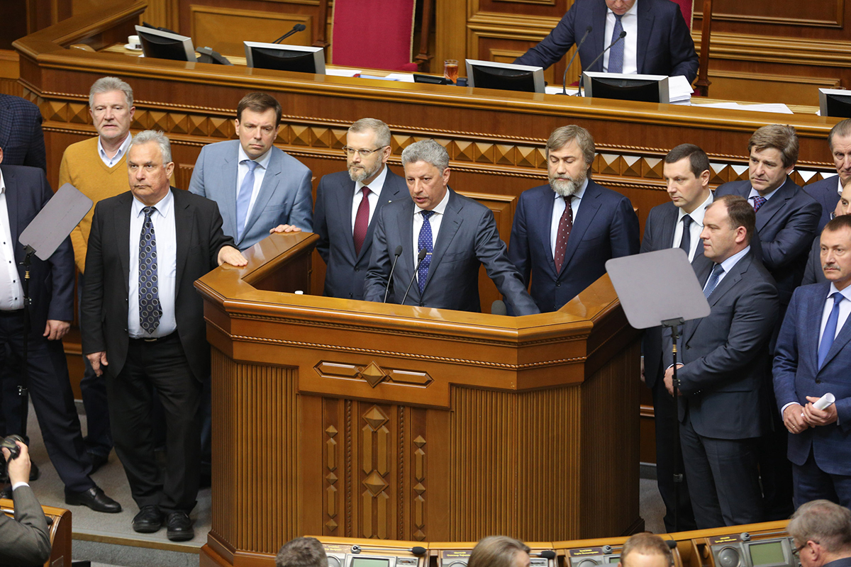 """Депутаты """"Оппозиционного блока"""" рассчитывают выйти на электоральное поле переселенцев"""