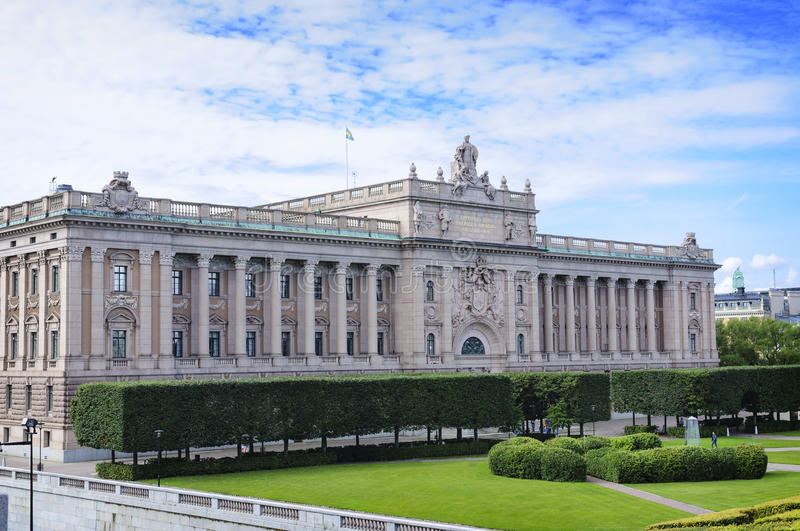 Здание парламента Швеции - Риксдага