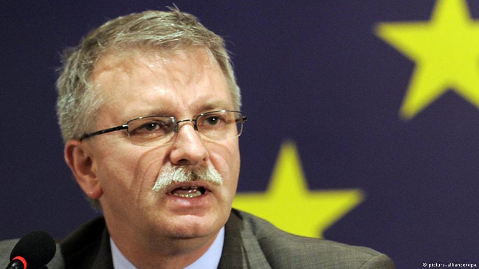 Депутат Европарламента Михаэль Галер представил доклад о выполнении Украиной Соглашения об ассоциации с ЕС