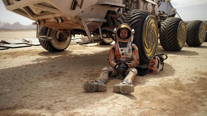 "Кадр из фильма ""Марсианин"", 2015 год"