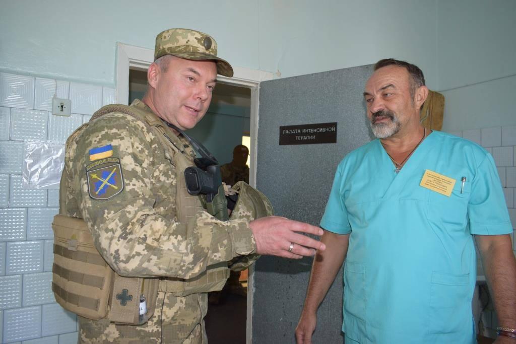 Генерал-лейтенант Сергей Наев