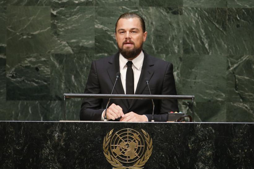 Леонардо Ди Каприо на открытии сессии Всемирного саммита ООН по климату в Нью-Йорке, 23 сентября 2014 года / IB Times