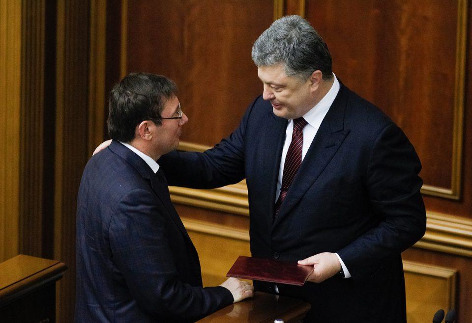 Вполне вероятно, что Луценко торгуется с Порошенко о своем будущем президентстве в 2024 году