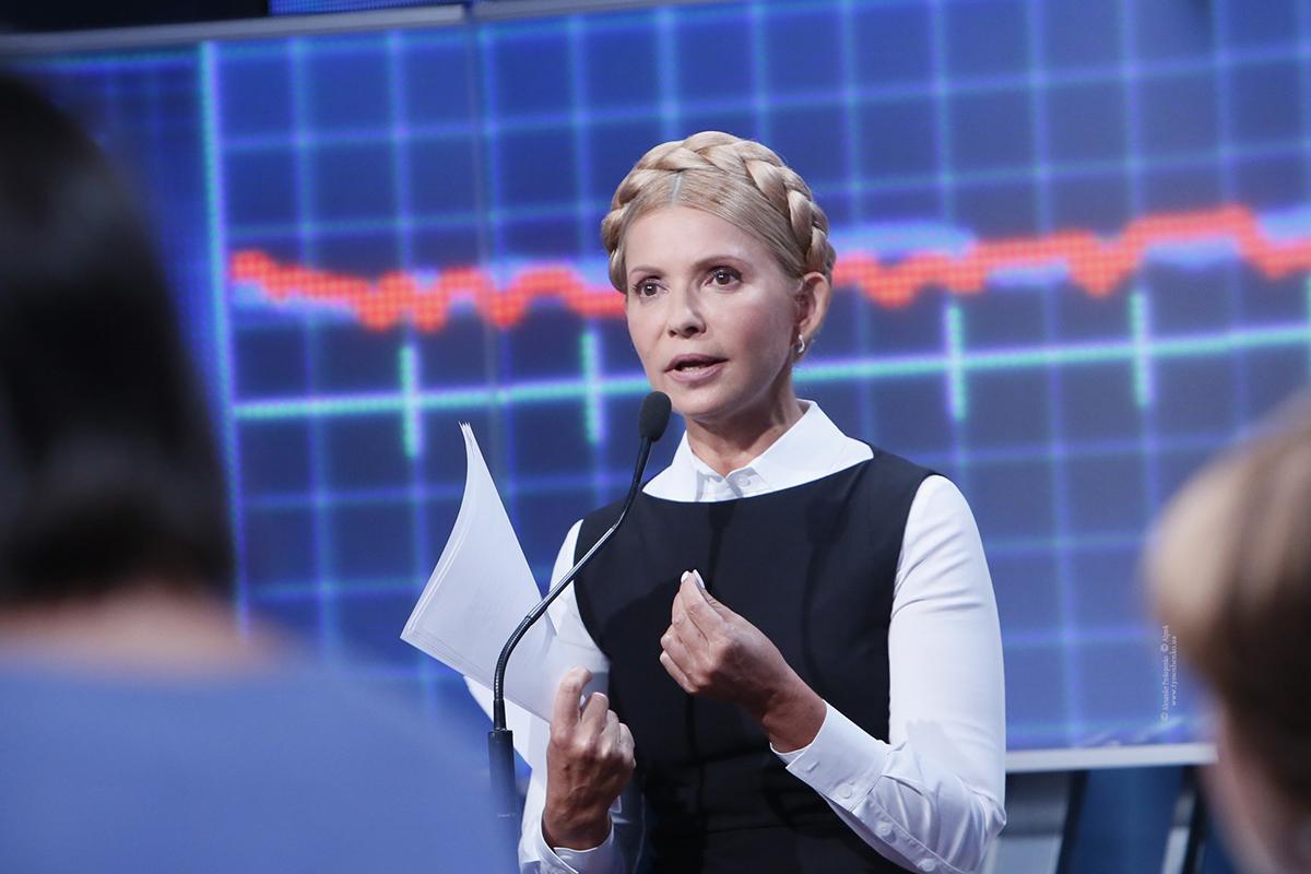 Юлию Тимошенко президент Порошенко не считает для себя конкурентом