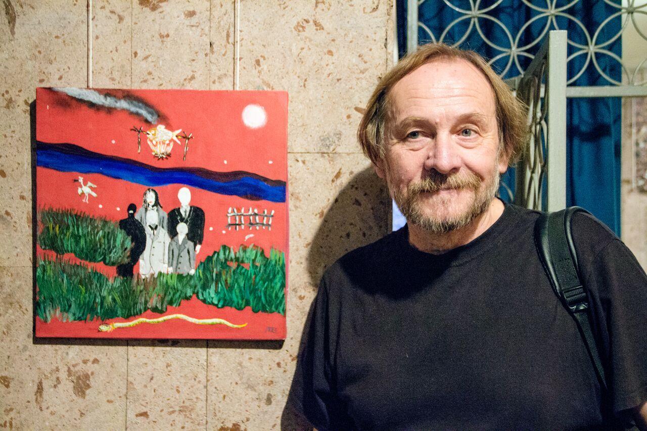Фотограф, искусствовед и художник Александр Ляпин