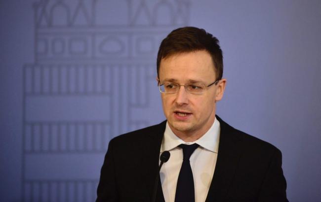 Глава МИДа Венгрии Петер Сийярто