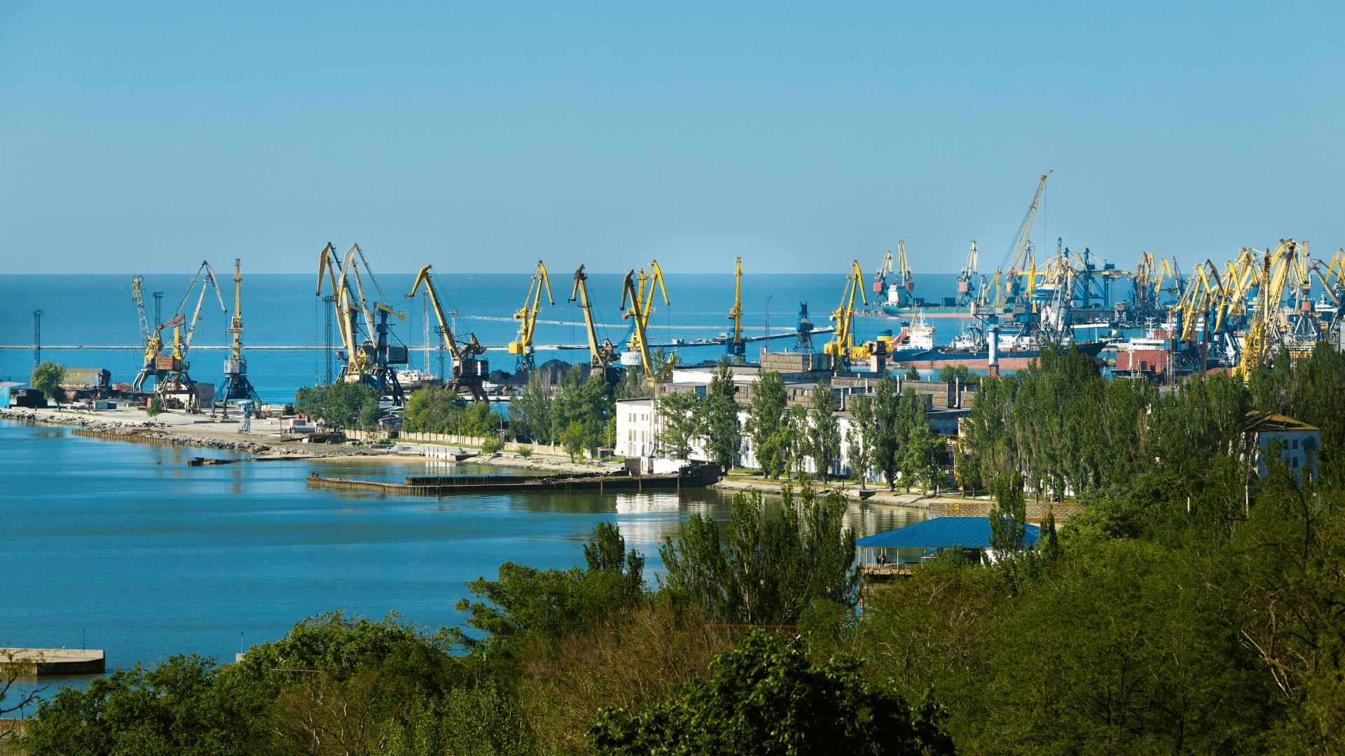 Порт Мариуполь - морские ворота Донбасса и Восточной Украины