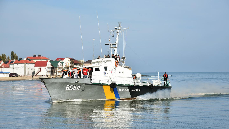Патрулированием в Азовском море сейчас занимаются только украинские пограничники