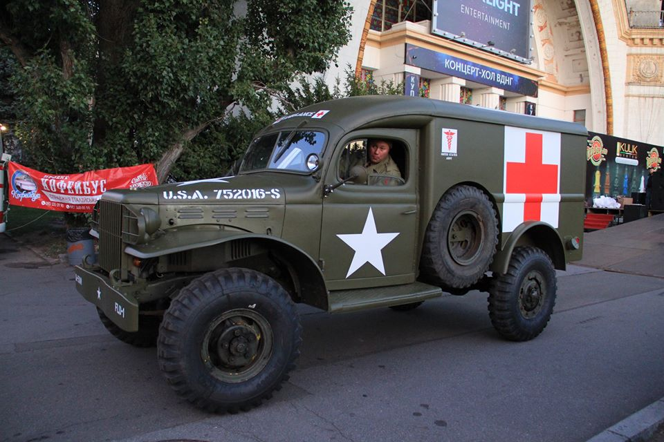 Американский военный Dodge