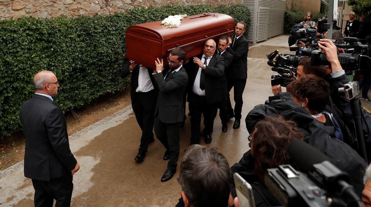 Похороны Монсеррат Кабалье, Барселона, 8 октября 2018 года / Фото: El Periodico