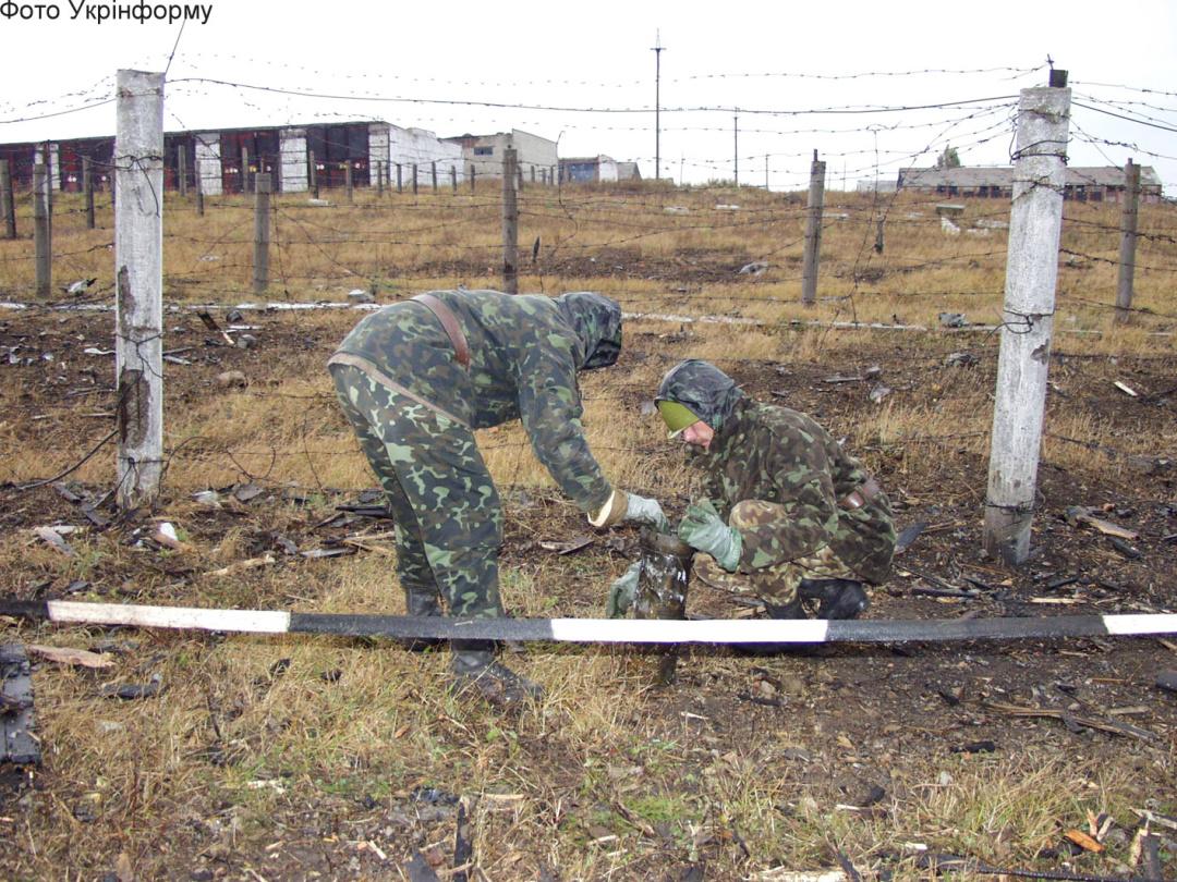 6-й арсенал Центрального ракетно-артиллерийского управления в пос. Дружба близ г. Ичня Черниговской обл.