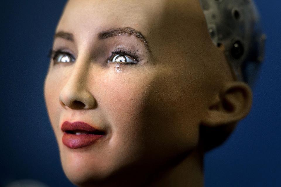 Многие считают Софию умным гуманоидом, способным вести осмысленную беседу