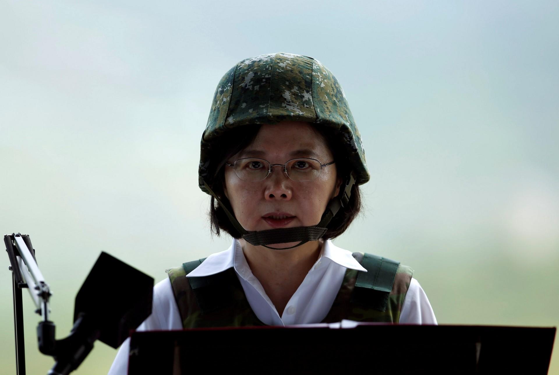 Президент Тайваня Цай Инвэнь – ярая противница сближения с КНР и верная союзница США в регионе