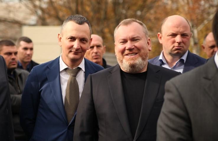 Юрий Голик (слева) и Валентин Резниченко