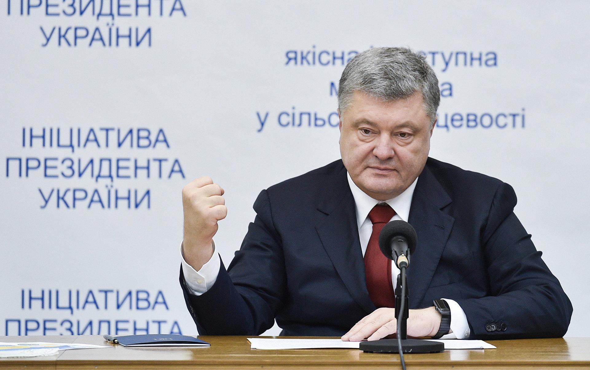 Ближе к выборам Порошенко начал четко разграничивать отвественность свою как президента и других ветвей власти