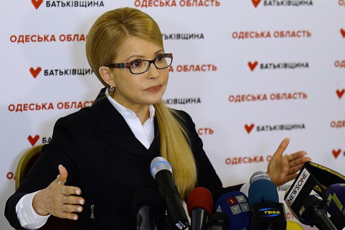 Лидер президентских рейтингов Юлия Тимошенко стремится к диалогу с обществом