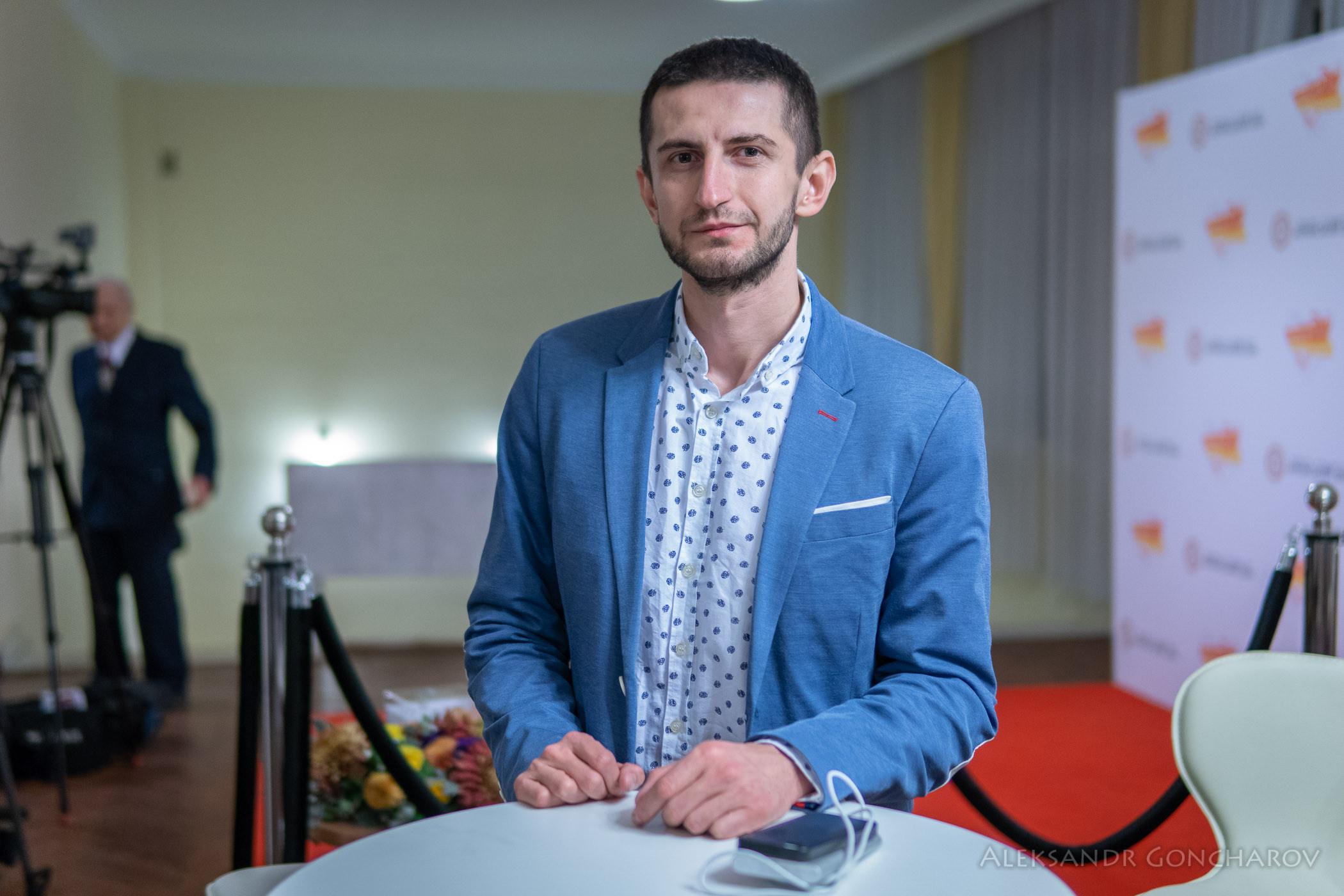 Алим Алиев, программный директор Крымского Дом и один из основателей общественной организации КрымSOS,