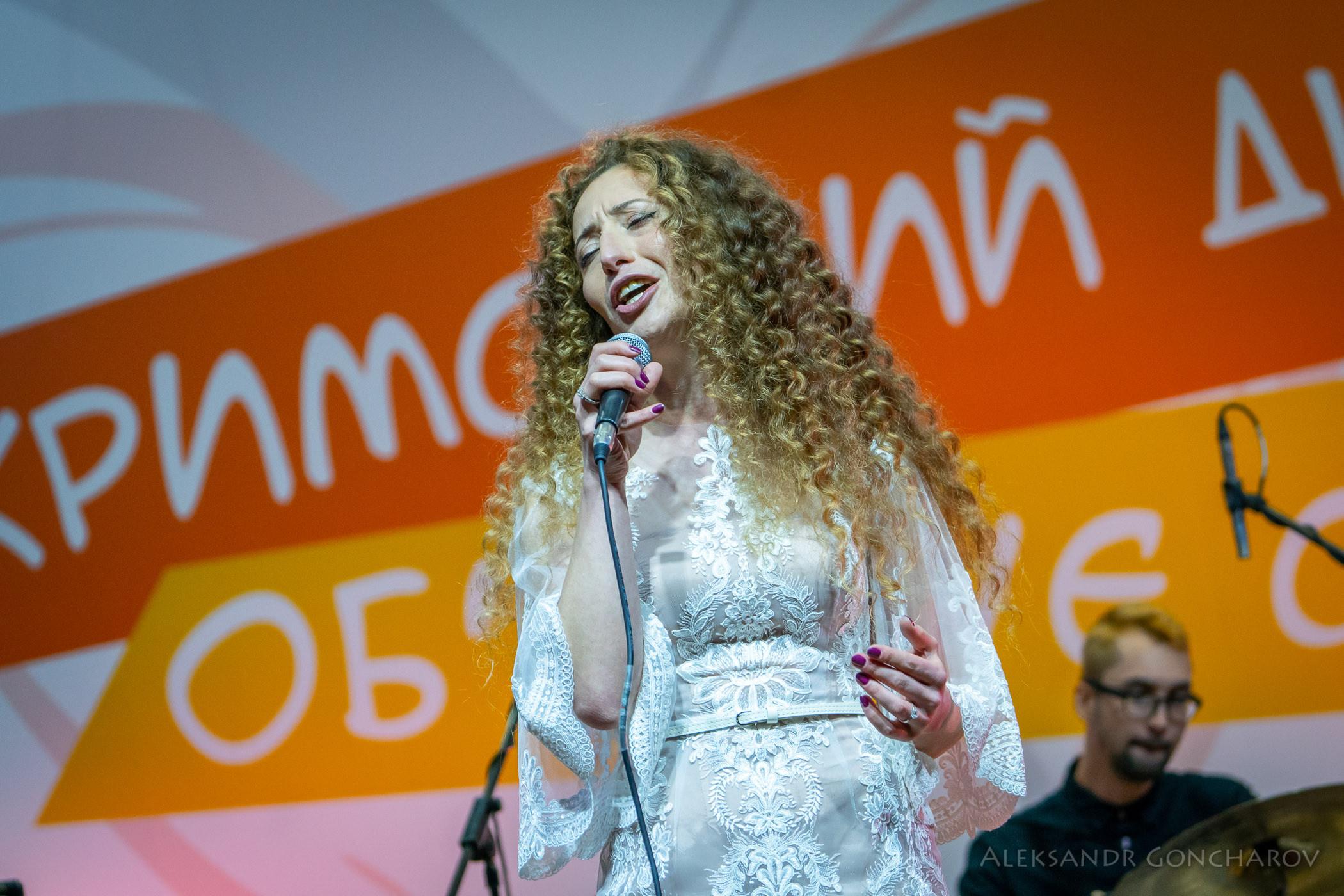 Айсель Балич, крымскотатарская этно-джазовая певица