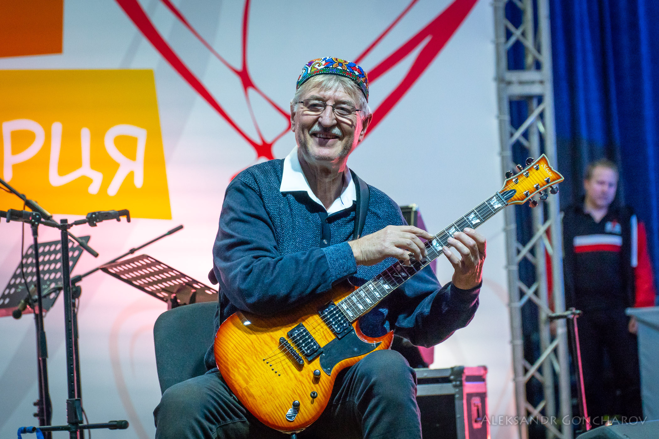 Энвер Измайлов, всемирно известный виртуоз-гитарист