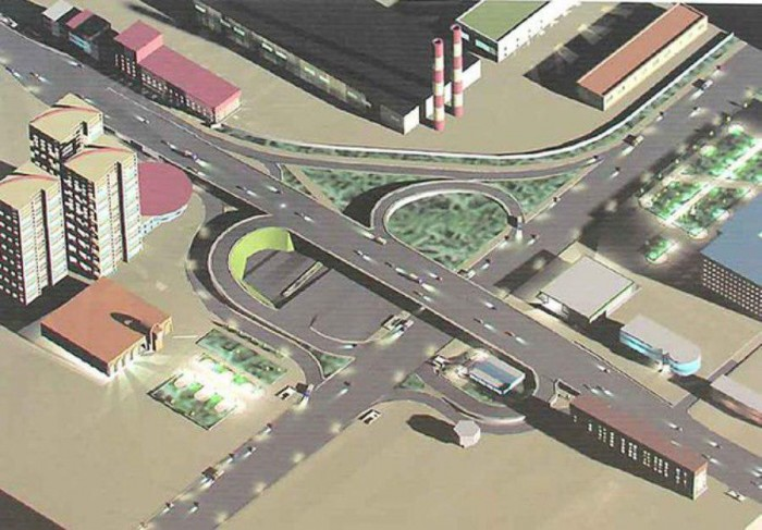 Проект реконструкции Шулявского путепровода