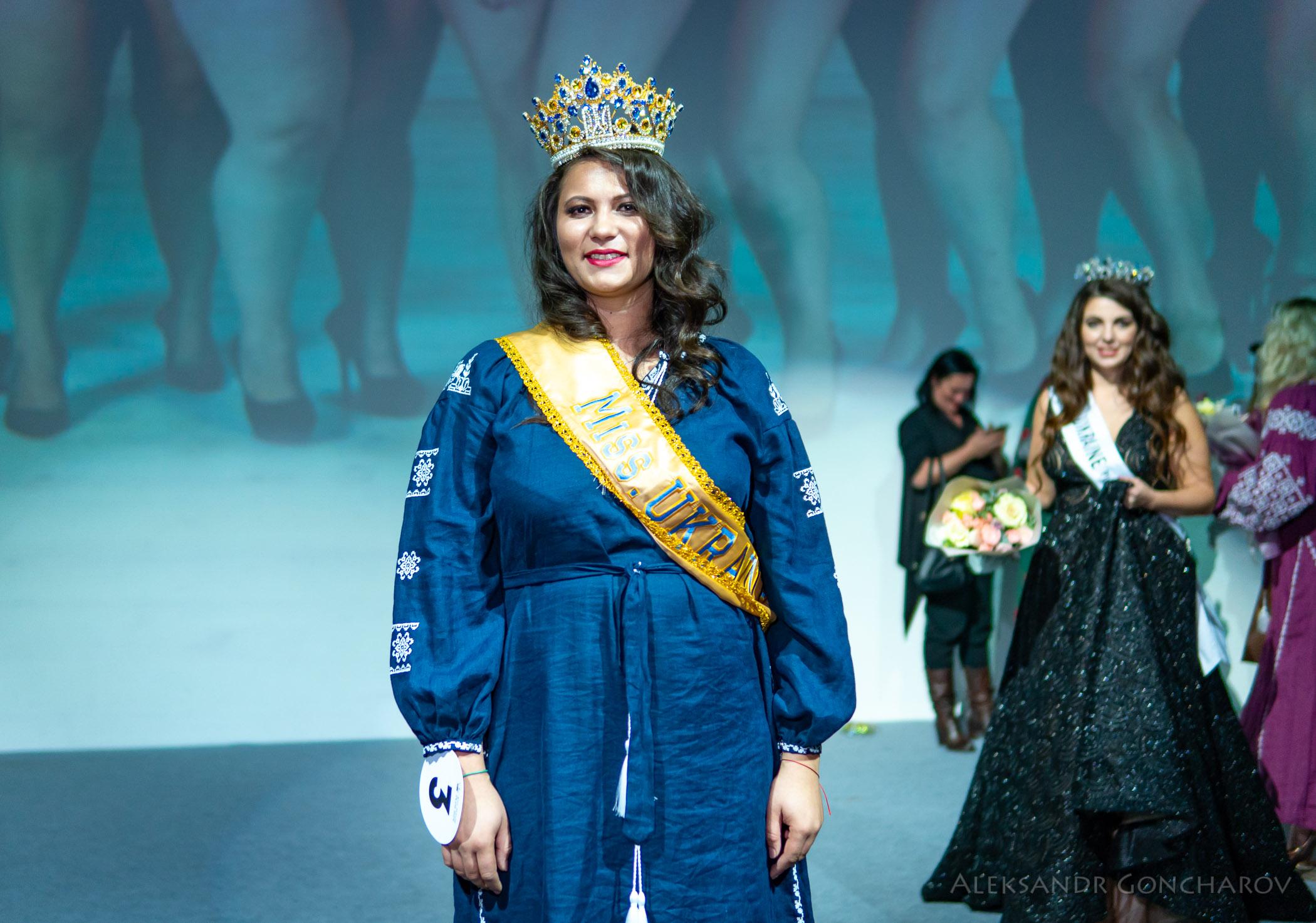 Корону «Мисс Украина Plus Size» Наталье Пащенко (по паспорту Кудренко) вручили ошибочно