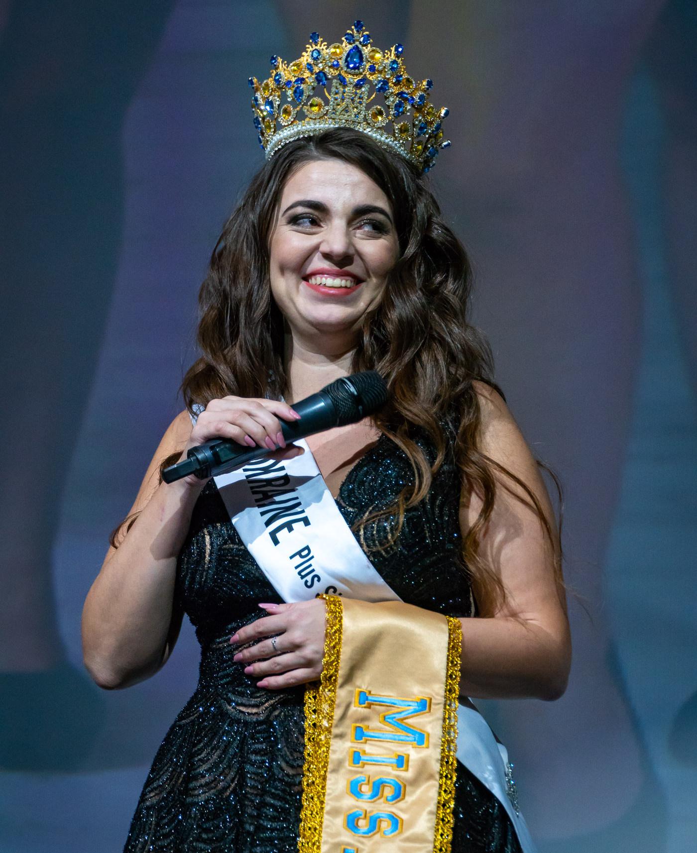Организатор нынешнего и победительница прошлогоднего конкурса «Мисс Украина Plus Size» Виктория Щелко