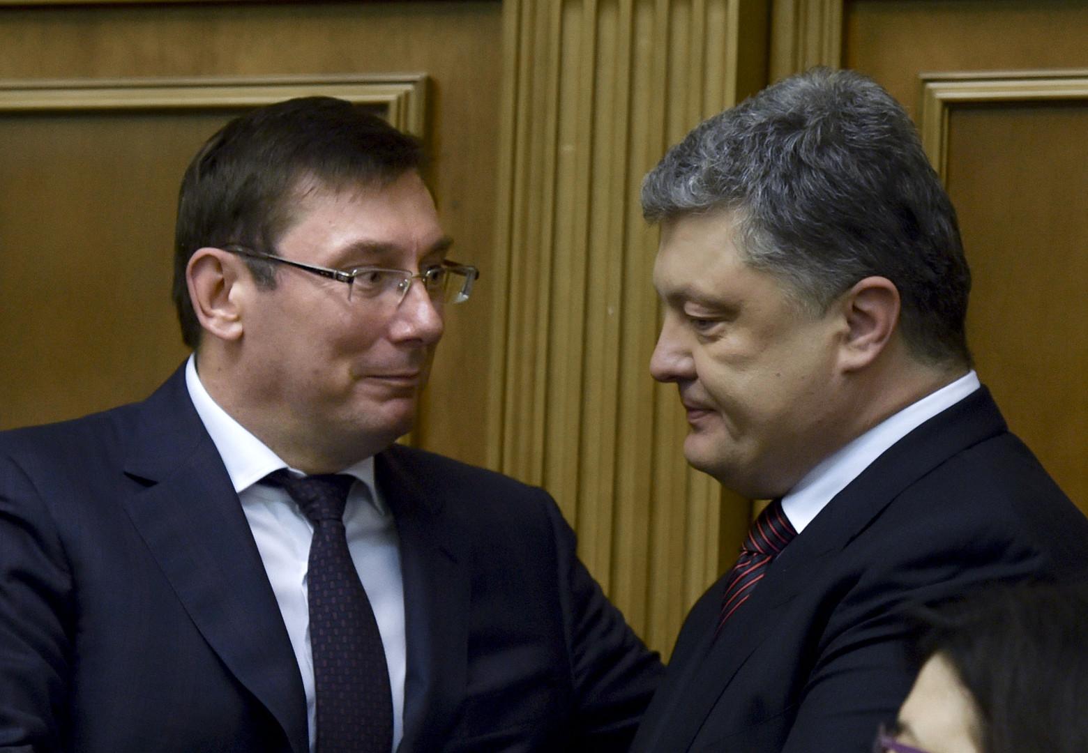 Отставка Луценко: уйти нельзя остаться